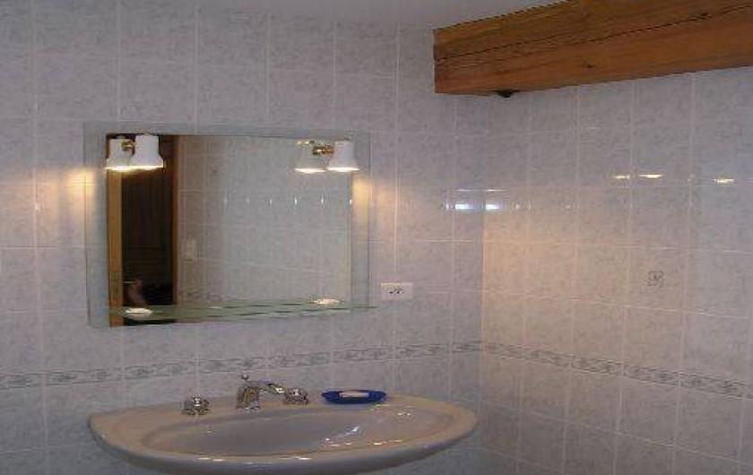 Location de vacances - Gîte à Raucoules - Salle de bains