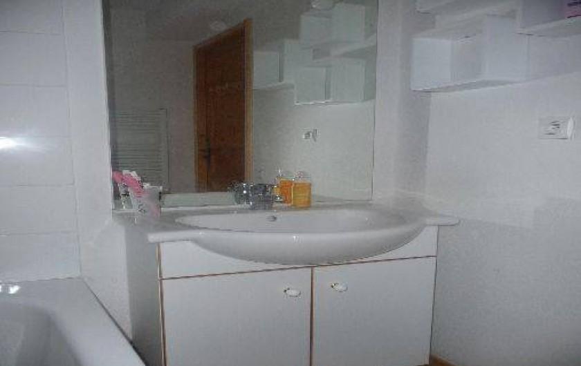 Location de vacances - Appartement à Valloire - SALLE DE BAIN