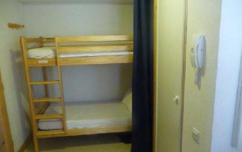 Location de vacances - Appartement à Valloire - LITS SUPERPOSES