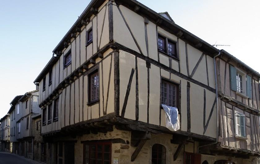 Location de vacances - Chalet à Rieupeyroux - Sauveterre de Rouergue