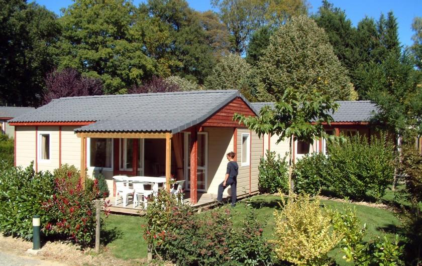 Location de vacances - Chalet à Rieupeyroux - Chalet Rêve