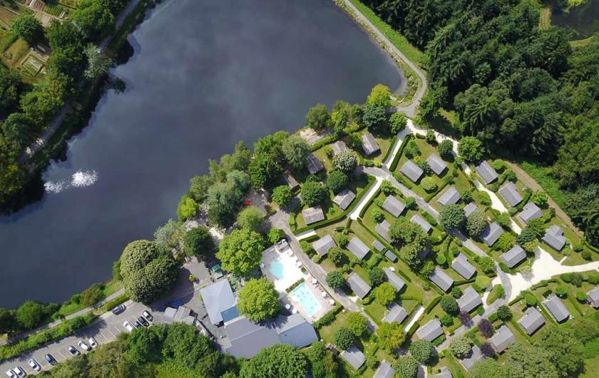 Location de vacances - Chalet à Rieupeyroux - Le village vacances au bord du lac de la prade