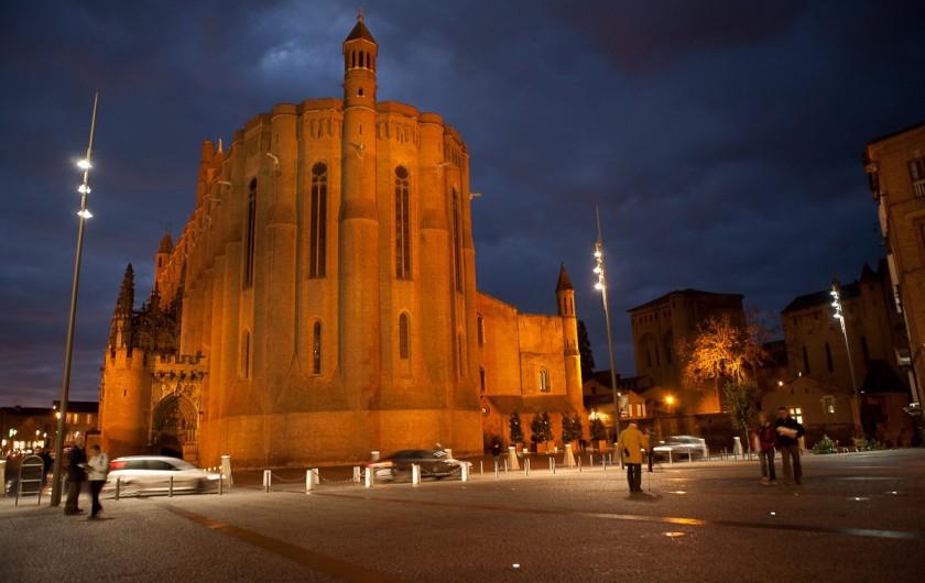 Location de vacances - Chalet à Rieupeyroux - Albi, la cathédrale Sainte-Cécile