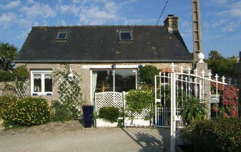 Location de vacances - Chambre d'hôtes à Ploudalmézeau - gîte maison du gardien