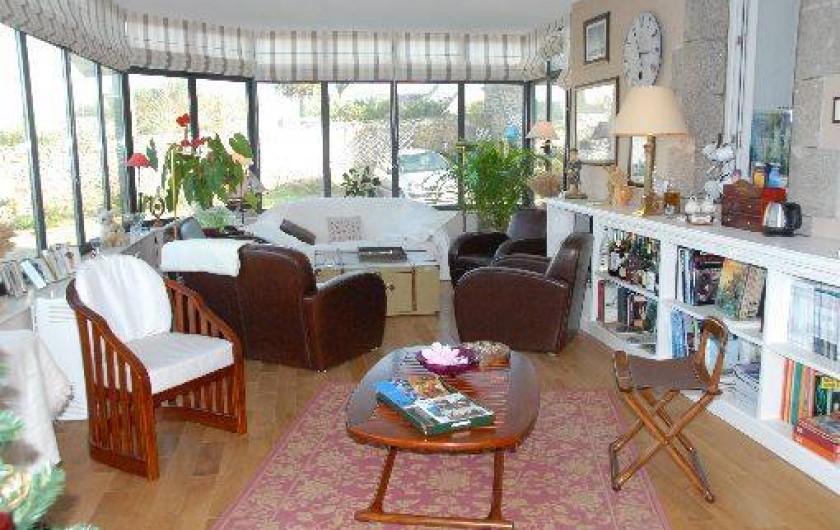Location de vacances - Chambre d'hôtes à Ploudalmézeau - véranda