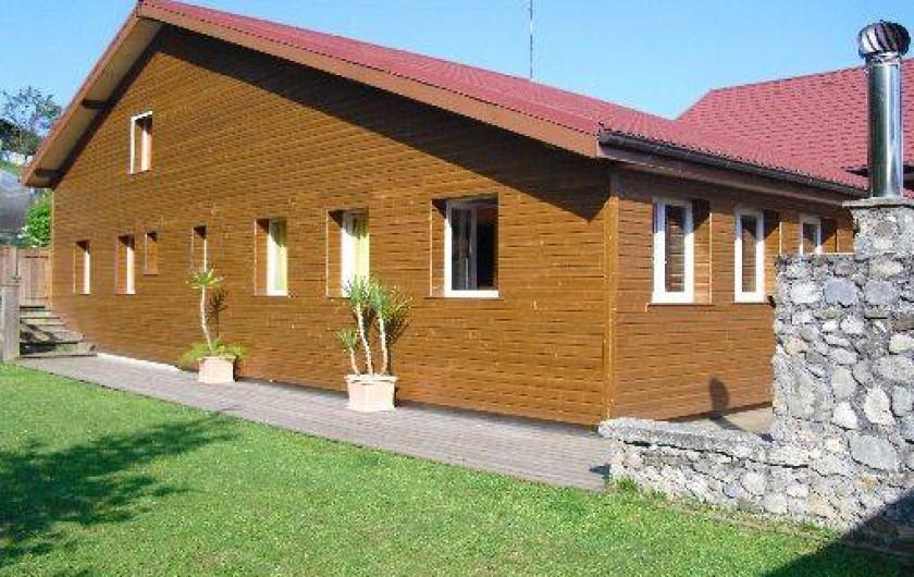 Location de vacances - Chalet à Lyaud