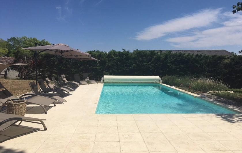 Location de vacances - Gîte à Lougratte - piscine à partager