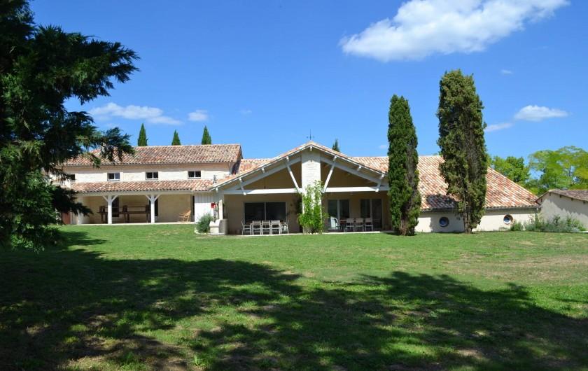 Location de vacances - Gîte à Lougratte - Vue Parc