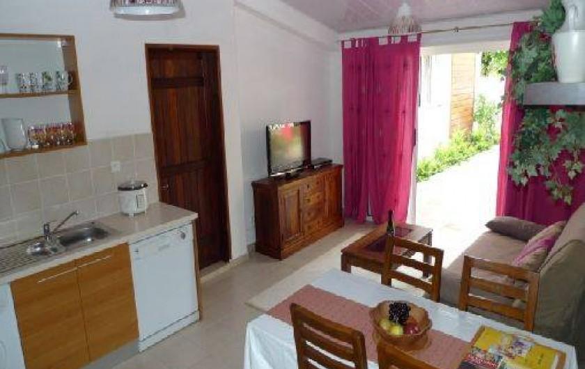 Location de vacances - Appartement à L'Étang-Salé
