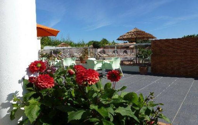 Location de vacances - Camping à Saint-Jean-de-Monts - Camping Plein Sud_Bar avec Terrasse en Vendée