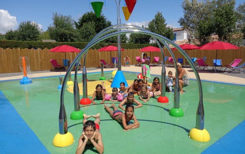 Location de vacances - Camping à Saint-Jean-de-Monts - Camping Plein Sud_Espace Aqua Ludique_Aire de jeux d'eau