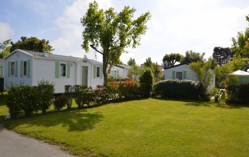 Location de vacances - Camping à Saint-Jean-de-Monts - Camping Plein Sud_Location & Emplacements