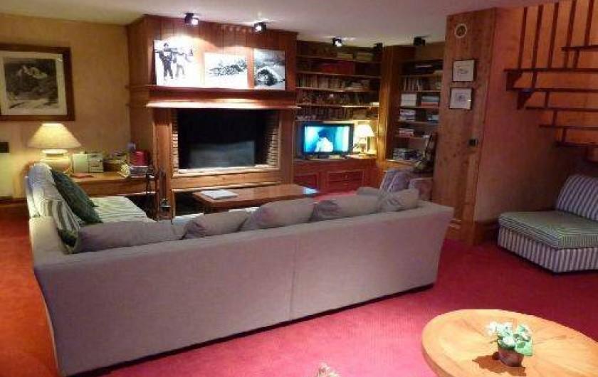 Location de vacances - Appartement à Les Arcs - Salon TV, Wi-Fi, livres, jeux, DVD, BD, puzzles, nombreux jeux de société