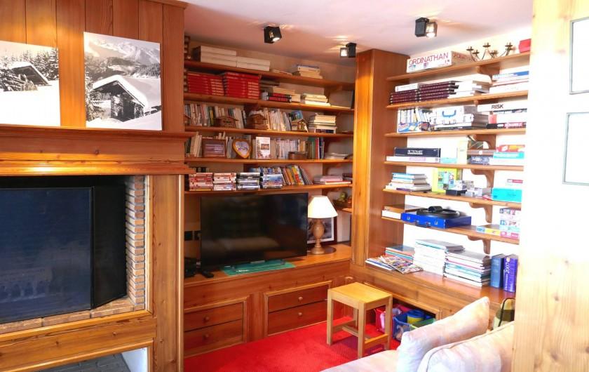 Location de vacances - Appartement à Les Arcs - coin TV