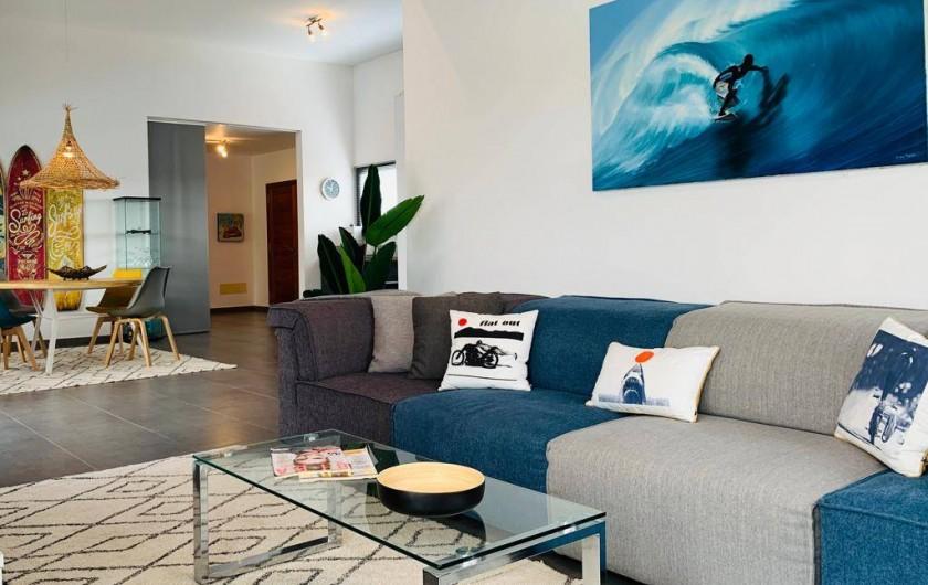 Location de vacances - Villa à Lajares - salon