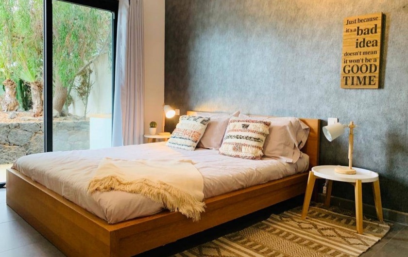 Location de vacances - Villa à Lajares - chambre 1