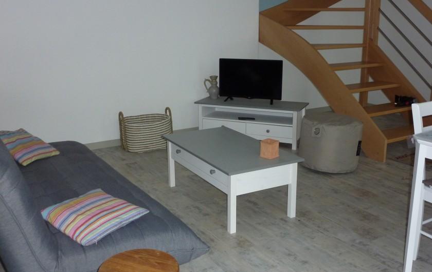 Location de vacances - Gîte à Teurthéville-Hague - Coin salon