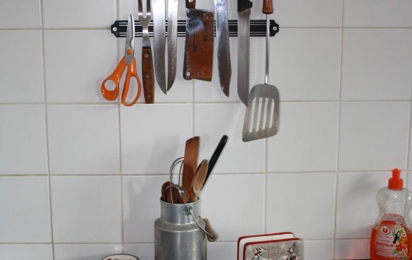Location de vacances - Appartement à Séez - équipement pour bien cuisiner