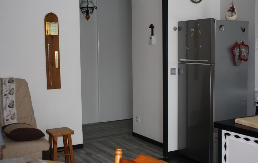 Location de vacances - Appartement à Séez - cuisine américaine