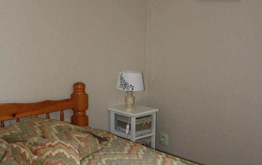 Location de vacances - Appartement à Séez - chambre : lit de 140 cm