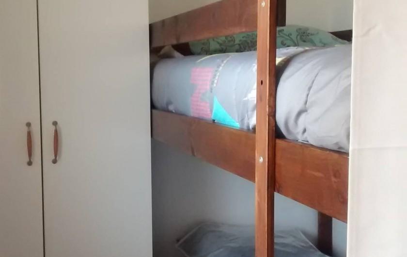 Location de vacances - Appartement à Calvi - coin chambre pour 1 personne suplémentaire