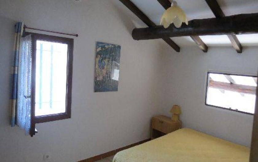 Location de vacances - Villa à Conca - Grande chambre avec 1 lit double