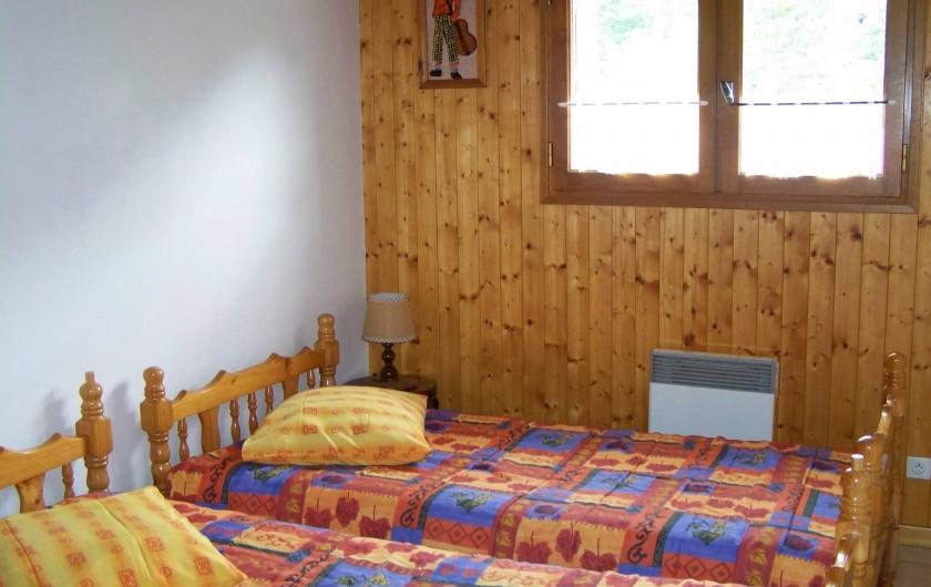 Location de vacances - Gîte à Saint-Pierre-de-Chartreuse - Chambre  - 2 lits simples