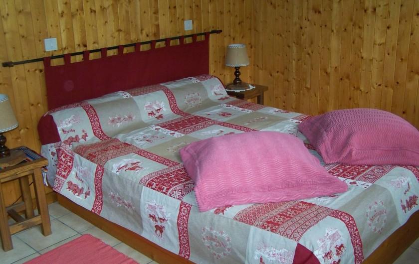 Location de vacances - Gîte à Saint-Pierre-de-Chartreuse - Chambre  - 1 lit double