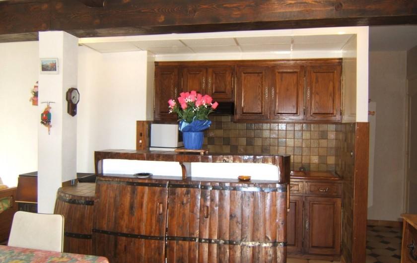 Location de vacances - Appartement à Sospel - Cuisine américaine