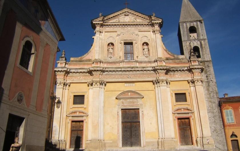 Location de vacances - Appartement à Sospel - Eglise baroquiale