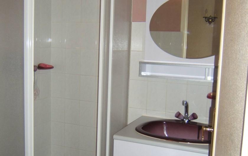 Location de vacances - Appartement à Sospel - Salle de bain