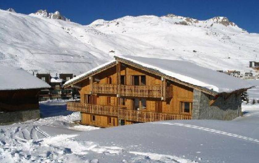 Location de vacances - Chalet à Tignes
