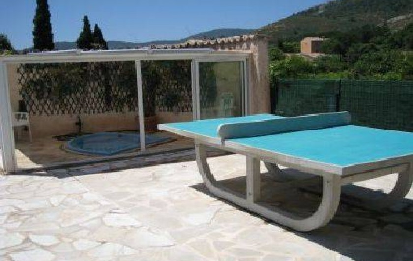Location de vacances - Villa à Le Plan-de-la-Tour - Table de Ping Pong