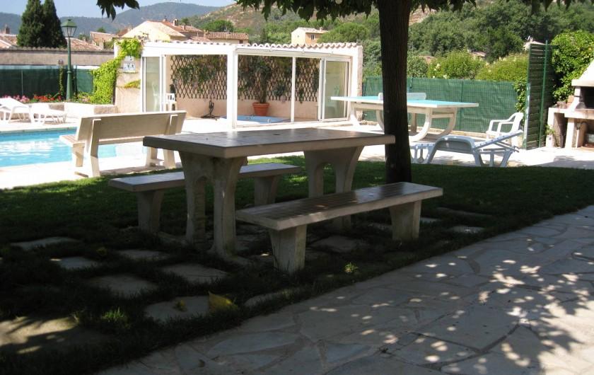 Location de vacances - Villa à Le Plan-de-la-Tour - A L'OMBRE DES MURIERS PLATANE