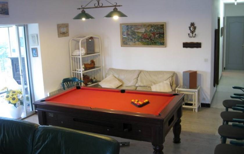 Location de vacances - Villa à Le Plan-de-la-Tour - SALON