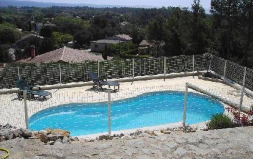 Location de vacances - Villa à Bédoin - Vue sur la plaine