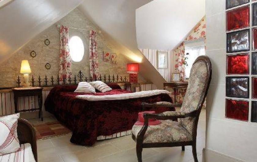 Location de vacances - Chambre d'hôtes à Marchais - chambre 2 pers
