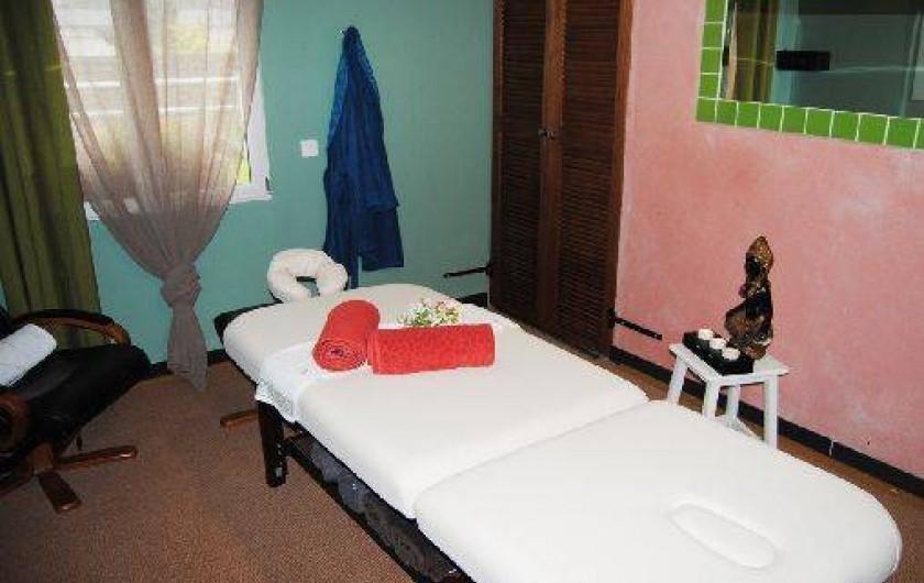 Location de vacances - Chambre d'hôtes à Marchais - prestation de massage à la carte