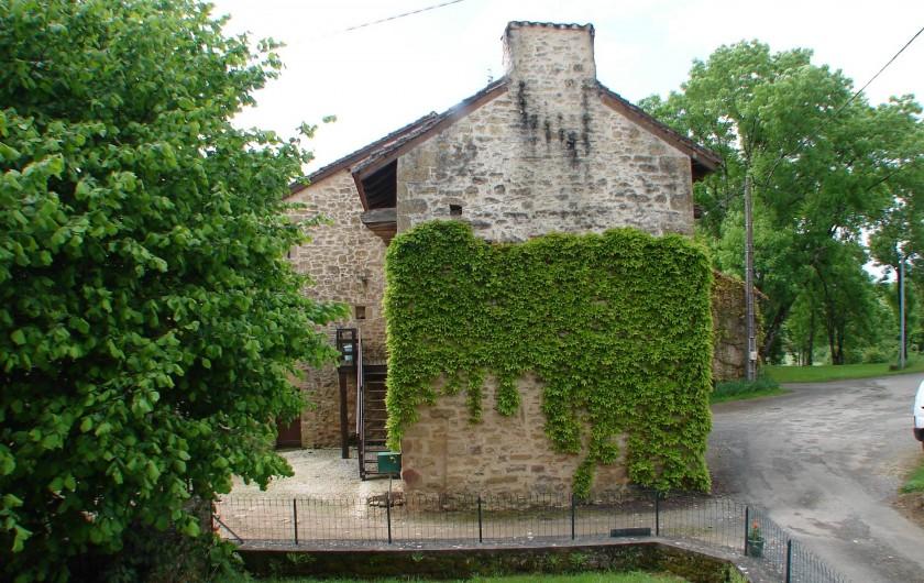 Location de vacances - Gîte à Corgnac-sur-l'Isle - Vue du balcon du gite