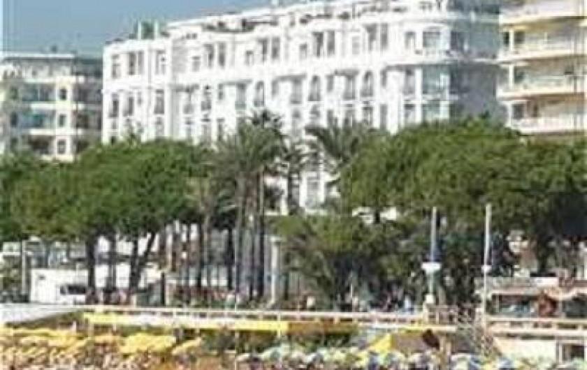 Location de vacances - Studio à Cannes - La Croisette