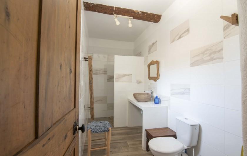 Location de vacances - Mas à Ners - chambre enfants 2 couchages 2mX90cm +1 couchage 1.80mX0.90m