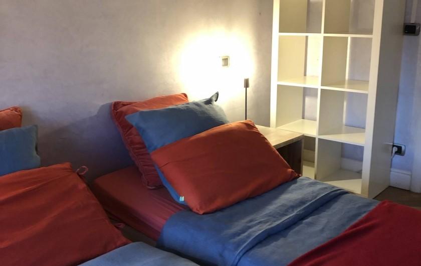 Location de vacances - Appartement à Monaco-Ville - la chambre du bas ds le grand appartement