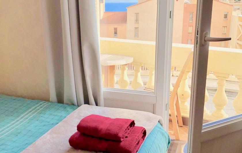 Location de vacances - Appartement à Monaco-Ville - vers le petit balcon