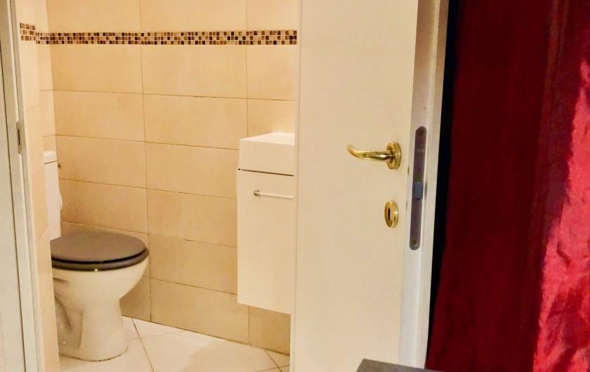 Location de vacances - Appartement à Monaco-Ville - toilettes indépendants