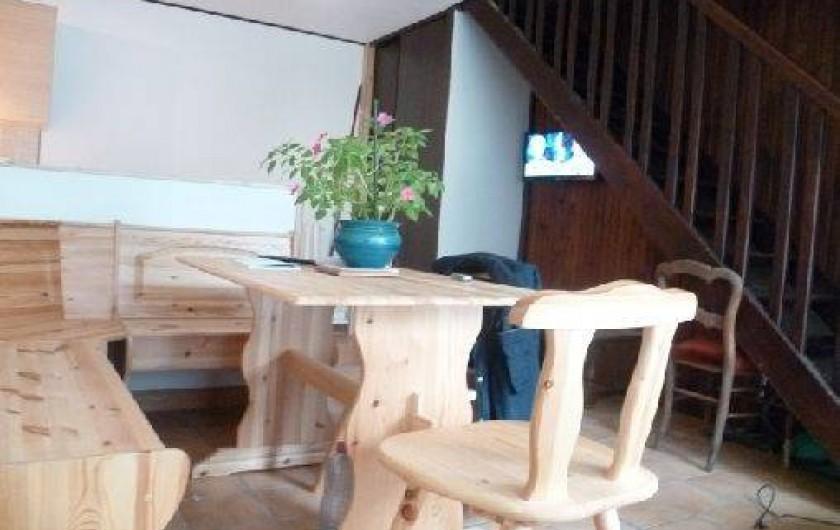 Location de vacances - Gîte à Saint-Sauveur-d'Émalleville - Le coin repas