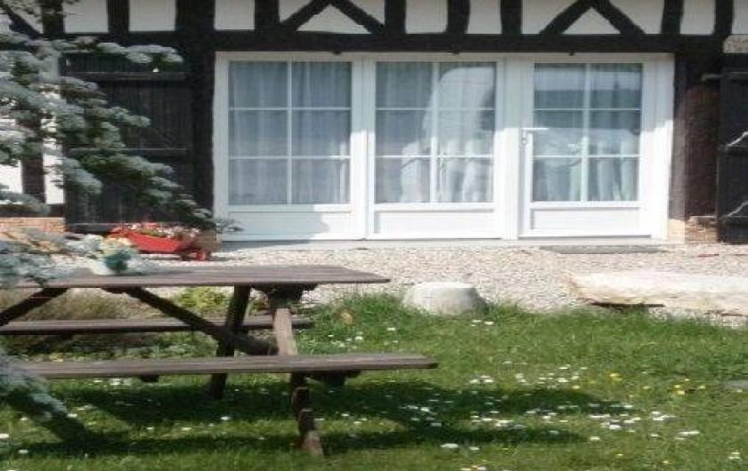 Location de vacances - Gîte à Saint-Sauveur-d'Émalleville - Le gîte