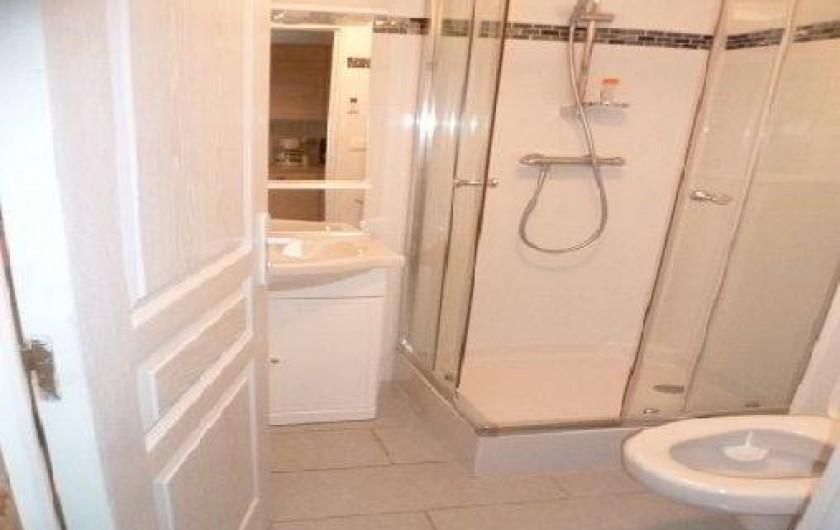 Location de vacances - Gîte à Saint-Sauveur-d'Émalleville - La salle de bain