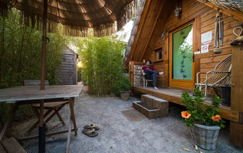 Location de vacances - Insolite à Allauch - Cabane Tahitienne