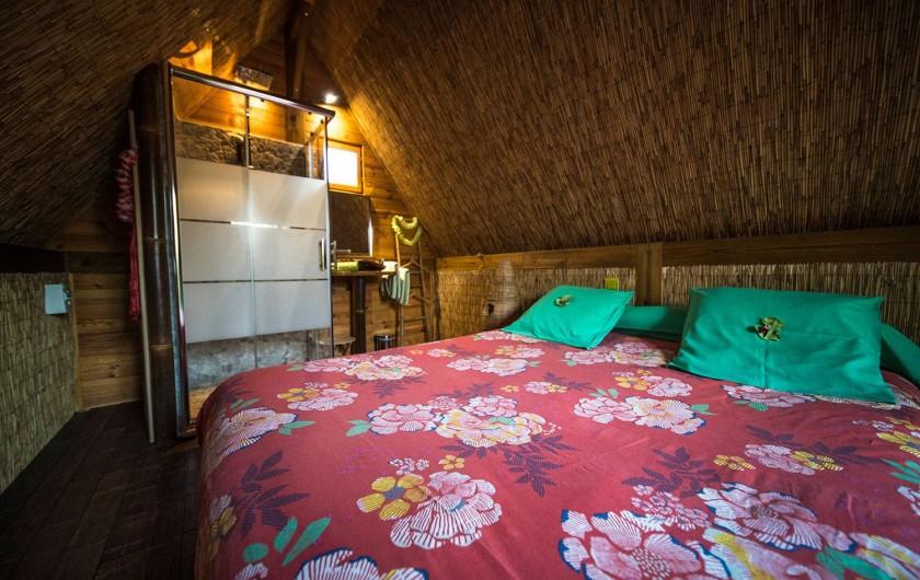 Location de vacances - Insolite à Allauch - Chambre cabane Tahitienne