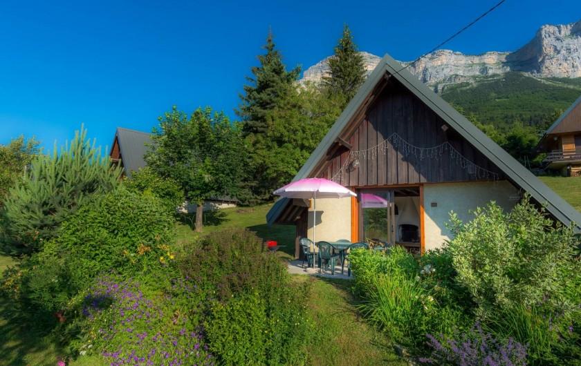 Location de vacances - Chalet à Saint-Hilaire - printemps